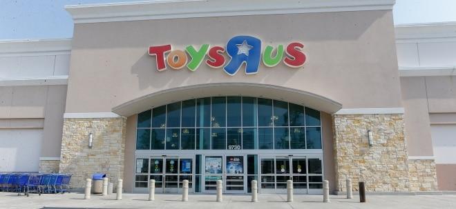 Umsatzrückgang: Pleite von Toys R Us brockt Hasbro Verlust ein - Hasbro-Aktie volatil | Nachricht | finanzen.net