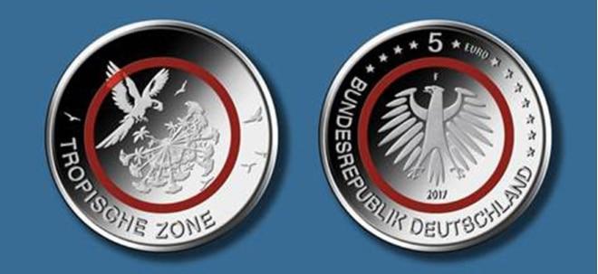 Sammlerstück Neue 5 Euro Münze Tropische Zone Seit Heute Auf Dem