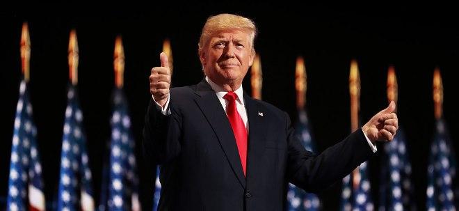 Richtige Details Fehlanzeige: Trump-Regierung gibt Steuerpläne bekannt - Kursexplosion bleibt aus | Nachricht | finanzen.net