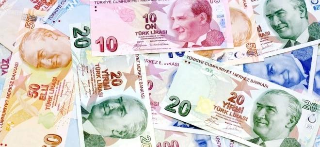 Deutliche Beschleunigung: Lira-Krise beschleunigt türkische Inflation auf knapp 18 Prozent - Türkische Notenbank alarmiert | Nachricht | finanzen.net