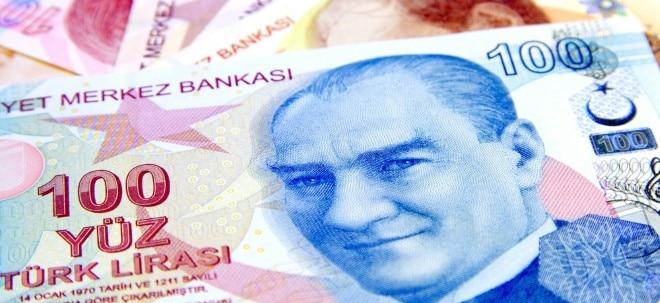 Stärker als erwartet: Türkische Zentralbank kappt Leitzins weiter - Türkische Lira sackt ab | Nachricht | finanzen.net