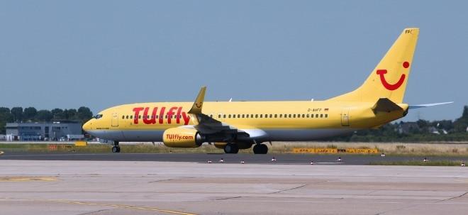 Flottenreduzierung: TUI-Aktie tiefrot: Pilotengewerkschaft macht Front gegen Stellenabbau bei TUIfly | Nachricht | finanzen.net