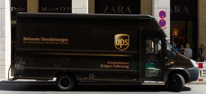 Paketflut in der Heimat treibt UPS an - UPS-Aktie dennoch tiefer