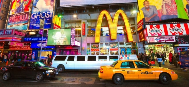 Erholung: McDonald's-Aktie leichter: Quartalsdividende erhöht | Nachricht | finanzen.net