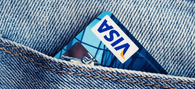 Geschäfte laufen gut: Visa-Anleger erfreut: Zahlen und Aktienrückkäufen stützen die Aktie | Nachricht | finanzen.net