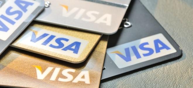 Euro am Sonntag-Aktien-Check: Visa-Aktie: Die Kauflaune treibt den Kurs weiter an | Nachricht | finanzen.net