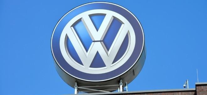 'Outperform': VW-Aktie im Plus: Credit Suisse hebt Ziel für Volkswagen | Nachricht | finanzen.net