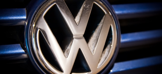 Volkswagen (VW) vz-Aktie aktuell: Volkswagen (VW) vz im Aufwind