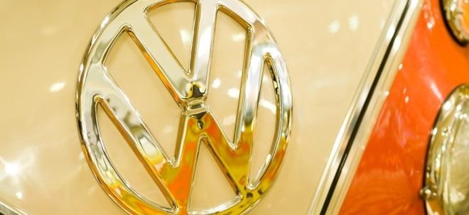 Volkswagen (VW) vz-Aktie in der Charttechnik: down-Signal