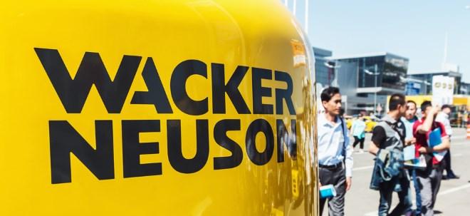 Rückenwind: Wacker Neuson überrascht mit Dividende und Aktienrückkauf - Aktie legt zu | Nachricht | finanzen.net