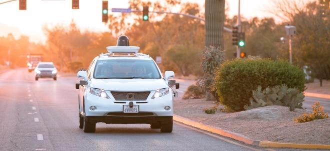 Autonomes Fahren: Push für Google: Waymo-Bewertung bei rund 250 Milliarden Dollar | Nachricht | finanzen.net