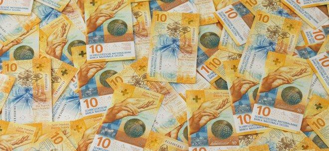 Unsicherheit in Europa: Franken steigt zum Euro auf höchsten Stand seit knapp einem Jahr | Nachricht | finanzen.net