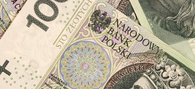 Euro am Sonntag: Polnischer Złoty: Rechtsruck in Warschau | Nachricht | finanzen.net