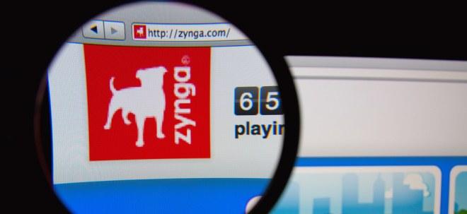 Übernahme: Zynga-Aktie legt kräftig zu: Zynga kauft Rivalen Peak für 1,8 Milliarden Dollar